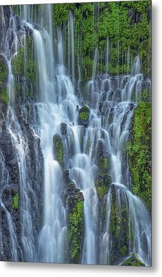 Metal Print featuring the photograph Intimate Burney Falls by Patricia Davidson