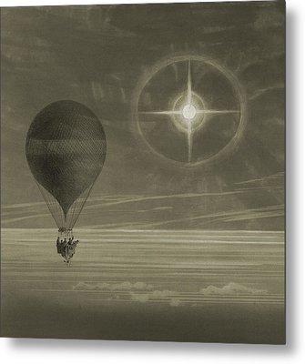 Into The Night Sky Metal Print