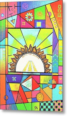 Into The Sun Metal Print by Jeremy Aiyadurai