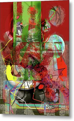 Introspection Metal Print by Dean Gleisberg