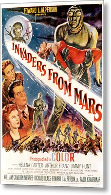 Invaders From Mars, Jimmy Hunt, Arthur Metal Print