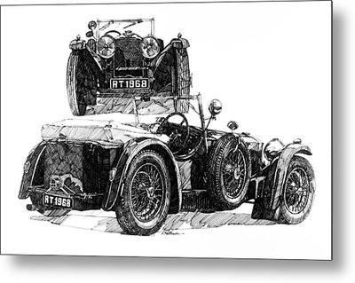 Invicta Metal Print by Ron Patterson