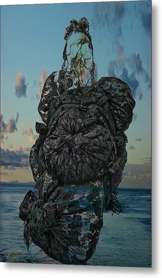 Invisable Lady Metal Print by Joan Reese
