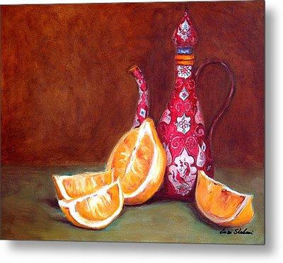 Iranian Lemons Metal Print by Enzie Shahmiri