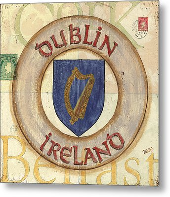 Ireland Coat Of Arms Metal Print