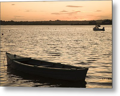 Metal Print featuring the photograph Irish Dusk by Ian Middleton