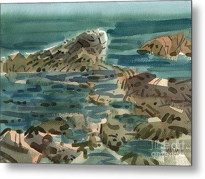 Irish Sea Metal Print by Donald Maier