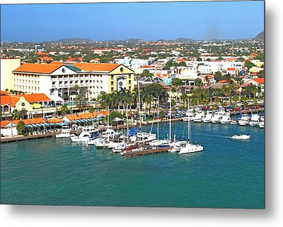 Metal Print featuring the photograph Island Harbor by Gary Wonning