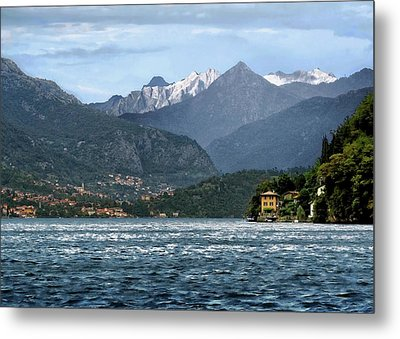 Italian Alps Metal Print by Jim Hill