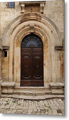 Italy - Door Eighteen Metal Print