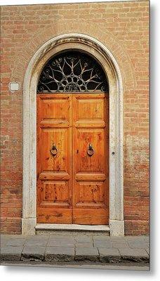 Italy - Door Fifteen Metal Print
