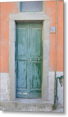 Italy - Door Five Metal Print