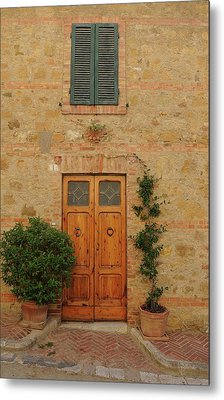 Italy - Door Nine Metal Print