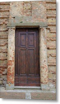Italy - Door Nineteen Metal Print