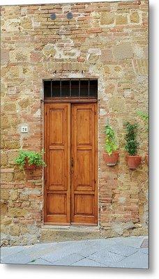 Italy - Door Six Metal Print