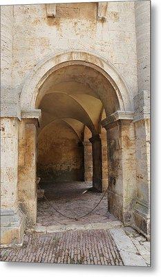 Italy - Door Sixteen Metal Print