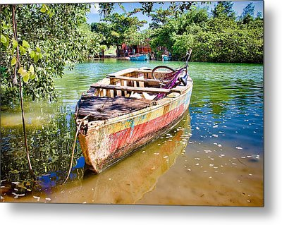 Metal Print featuring the photograph Itaparica Transportation by Kim Wilson
