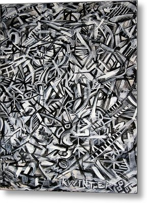 Jack's Metal Print by Dave Kwinter