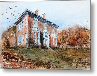 James Mcleaster House Metal Print by Monte Toon