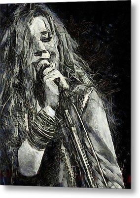 Janis Joplin 1969 Metal Print by Elizabeth Coats