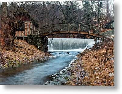 January Morning At Gomez Mill #1 Metal Print by Jeff Severson