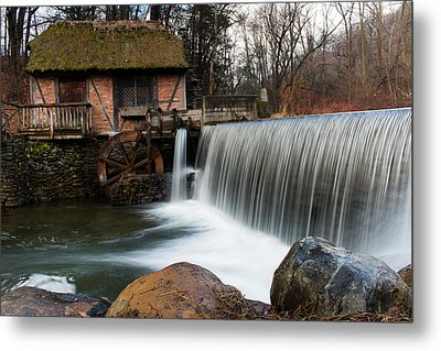 January Morning At Gomez Mill #2 Metal Print by Jeff Severson