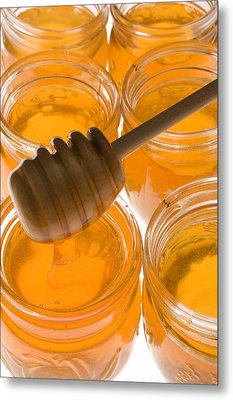 Jarrs Of Honey Metal Print by Garry Gay