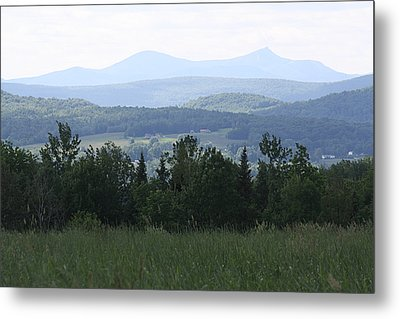Jay Peak From Irasburg Metal Print by Donna Walsh