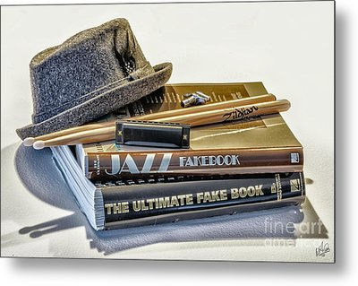 Metal Print featuring the photograph Jazz by Walt Foegelle