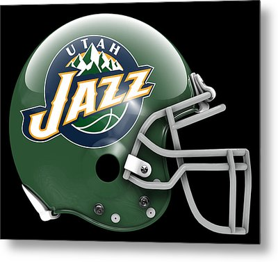 Jazz What If Its Football Metal Print