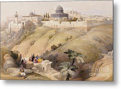 Jerusalem Metal Print by David Roberts