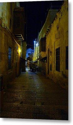 Metal Print featuring the photograph Jerusalem Of Copper 3 by Dubi Roman