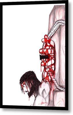 Jesus Metal Print by Abhay Pratap Singh Tomar