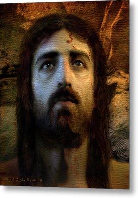 Jesus Alive Again Metal Print