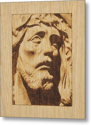 Jesus Christ Metal Print by Conrad  Pinto