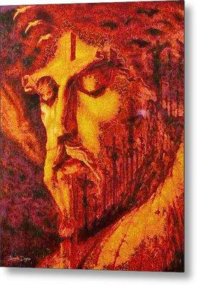 Jesus Christ - Pa Metal Print by Leonardo Digenio