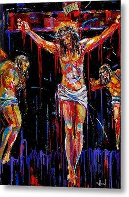 Jesus Of Nazareth Metal Print by Debra Hurd