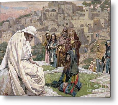 Jesus Wept Metal Print by Tissot