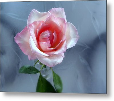 Jfk Rose Metal Print by Terri Mills