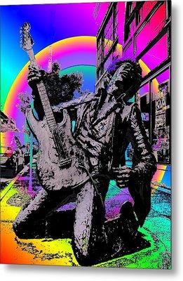 Jimi Hendrix Metal Print