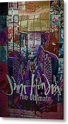 Jimi Hendrix - Ultimate Legend Metal Print