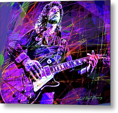Jimmy Page Solos Metal Print