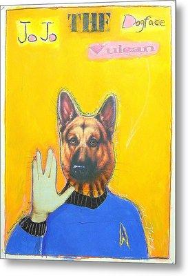 Jo Jo The Dodfaced Vulcan Metal Print by Mike  Mitch