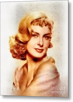 Joanne Woodward, Vintage Hollywood Actress Metal Print