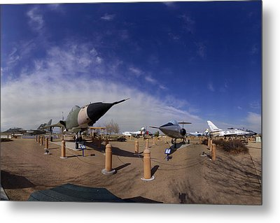 Joe Davies Heritage Airpark Palmdale Metal Print by Brian Lockett