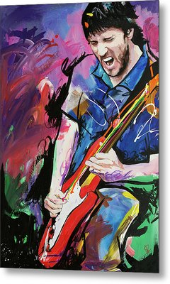 John Frusciante Metal Print by Richard Day
