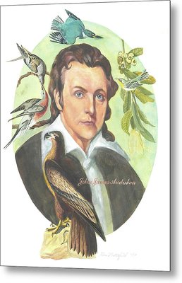 John James Audubon Metal Print by Kean Butterfield