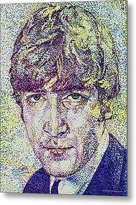 John Lennon Metal Print by Suzanne Gee