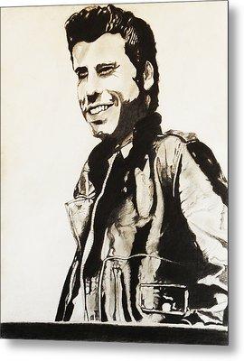 John Travolta Metal Print by Saheed Fawehinmi