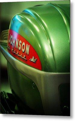 Johnson Sea Horse  Metal Print by Rebecca Sherman